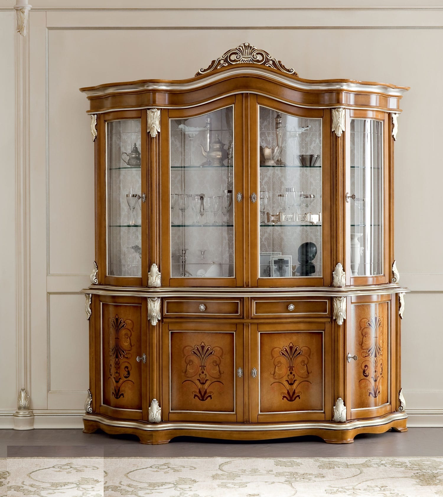 Glass Dining Room Cabinet