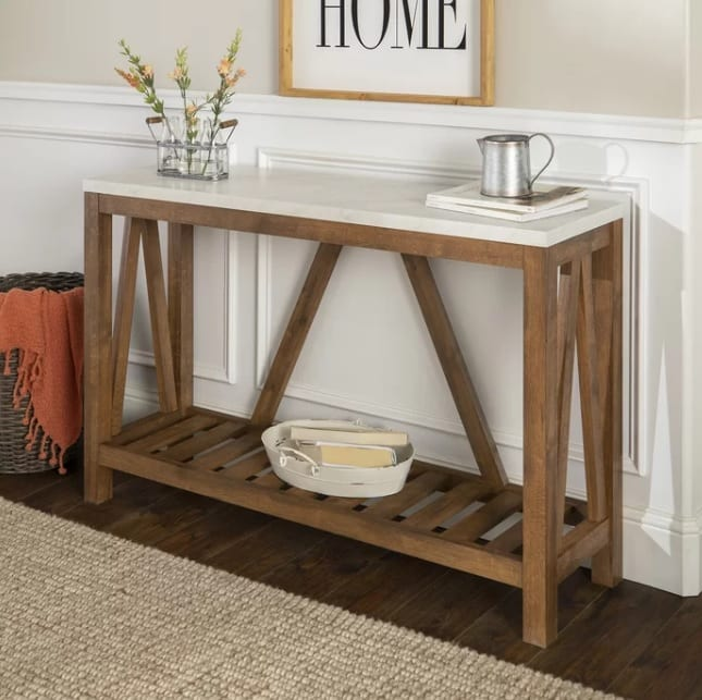 Offerman Console Table Furniture Ideal